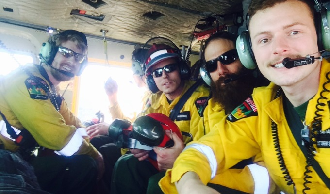 Firefighter in the Field: Update From The Edson UnitCrew