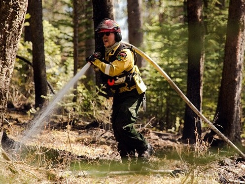 Firefighter in the Field