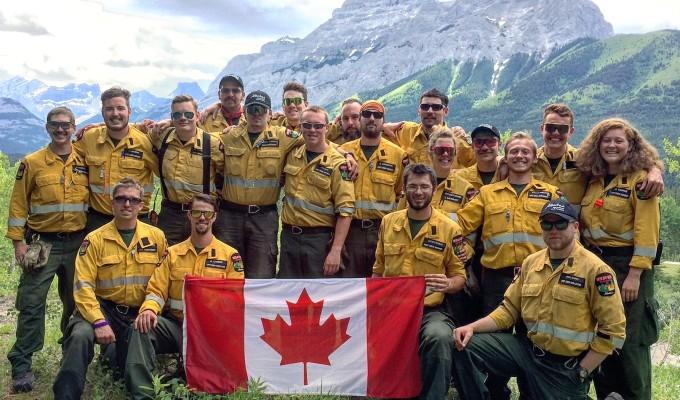 Alberta Wildfire Celebrates Canada150