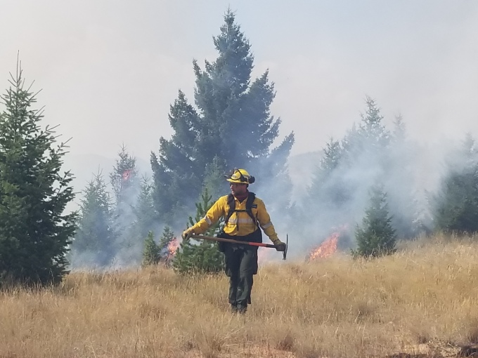 Firefighters in the Field: Export to Montana