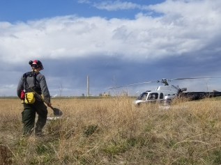 Firefighters in the Field: Oiling theMachine