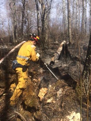Firefighters in the Field: My First Wildfire Season – RappelFirefighting